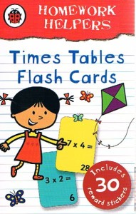homework helpers times table flash cards - ISBN: 9781409302803