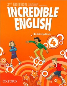 incredible english 2e 4 activity book - ISBN: 9780194442435