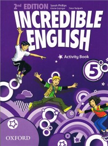 incredible english 2e 5 activity book - ISBN: 9780194442442