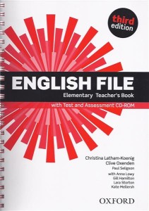 english file third edition elementary teachers book with test assessment cd-rom - ISBN: 9780194598743