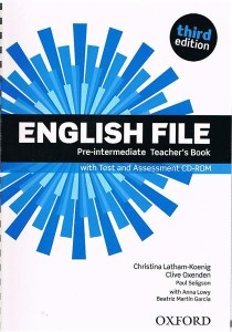 english file third edition pre-intermediate teachers book with test assessment cd-rom - ISBN: 9780194598750