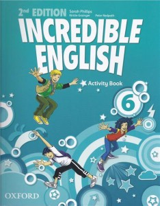incredible english 2e 6 activity book - ISBN: 9780194442459