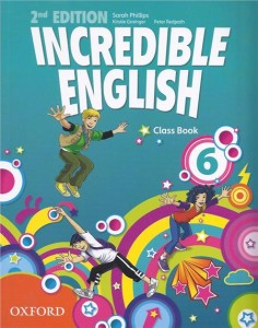 incredible english 2e 6 class book - ISBN: 9780194442336