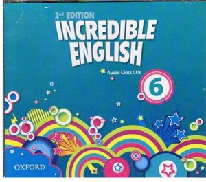 incredible english 2e 6 class cd 4 - ISBN: 9780194442251