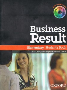 business result elementary students book with dvd-rom pack - ISBN: 9780194739375