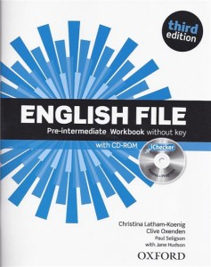 english file third edition pre-intermediate workbook  ichecker pack - ISBN: 9780194598729