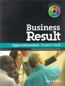 business result upper-intermediate students book with dvd-rom pack - ISBN: 9780194739405