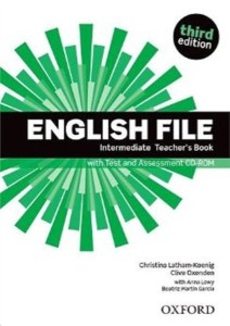 english file third edition intermediate teachers book with test and assessment cd-rom - ISBN: 9780194597173