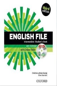 english file third edition intermediate students book with itutor and online skills - ISBN: 9780194597166