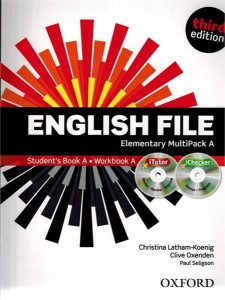 english file third edition elementary multipack a with itutor and ichecker - ISBN: 9780194598668