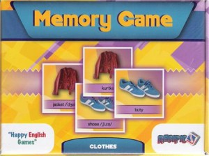 memory game - clothes - ISBNx: 5903111818012