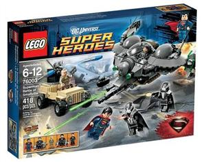 lego 76003 super heroes superman - ISBN: 5702014972681