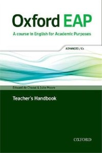 oxford eap c1 english for academic purposes teachers book pack with dvd-rom - ISBN: 9780194001823