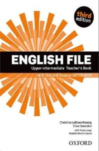 english file third edition upper-intermediate teachers book with test and assessment cd-rom - ISBN: 9780194558617