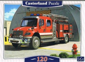 puzzle 120 el fire engine b-12831 - ISBN: 5904438012831