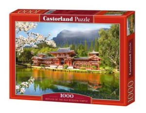 puzzle 1000 el replica of the old byodoin temple c-101726-2 - ISBN: 5904438101726