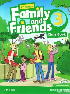 family and friends 2 edycja 3 class book and multirom pack - ISBN: 9780194808316