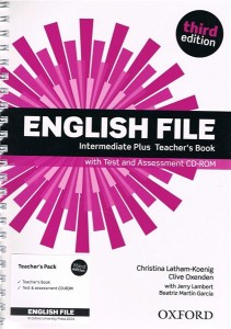english file third edition intermediate plus teachers book pack test assessment cd-rom - ISBN: 9780194558211