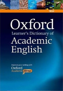 oxford learners dictionary of academic english with academic iwriter on cd-rom - ISBN: 9780194333504