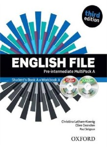 english file third edition pre-intermediate multipack a with itutor and ichecker - ISBN: 9780194598682