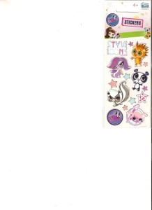 naklejki littlest pet shop silver 66 x 180 s-boo - ISBN: 5907604616956
