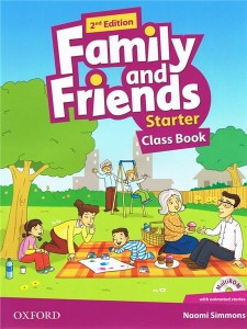 family and friends 2 edycja starter class book and multirom pack - ISBN: 9780194808286