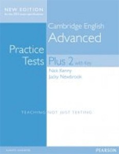 cambridge advanced practice tests plus new edition 2015 students book with key - ISBN: 9781447966203