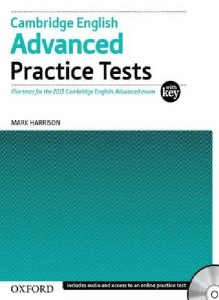 cambridge english advanced practice tests with key and audio cd and online practice tests 2015 - ISBN: 9780194512626