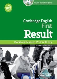 cambridge english first result workbook resource pack with key multirom online practice test 2015 - ISBN: 9780194511803