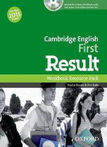cambridge english first result workbook resource pack with multirom online practice test 2015 - ISBN: 9780194511858
