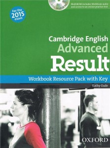 cambridge english advanced result workbook resource pack with key multirom online practice test 2015 - ISBN: 9780194512404