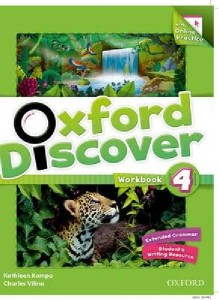 oxford discover 4 workbook with online practice pack - ISBN: 9780194278195