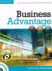 business advantage intermediate students book with dvd - ISBN: 9780521132206