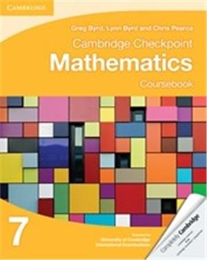 cambridge checkpoint mathematics coursebook 7 - ISBN: 9781107641112