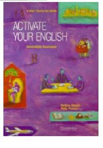 activate your english intermediate coursebook - ISBN: 9780521484206