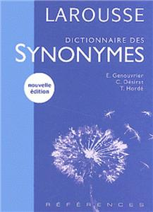 dictionnaire des synonymes - ISBNx: 9782035321671