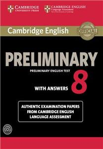 cambridge preliminary english tests 8 students book key cd - ISBN: 9781107675834