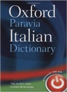 oxford paravia italian dictionary hb 3e 2010 - ISBN: 9780199580422