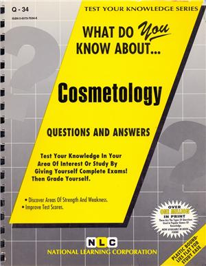 what do you know about cosmetology - ISBNx: 9780837370347