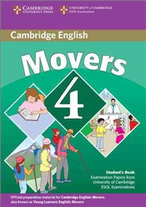 cambridge young learners english tests movers 4 sb 2 ed - ISBN: 9780521694018