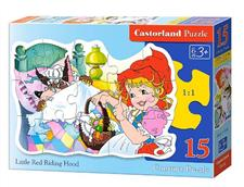 puzzle 15 el little red riding hood b-015030 - ISBN: 5904438015030