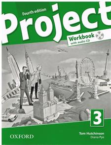 project fourth edition 3 workbook with audio cd and online practice - ISBNx: 9780194762922