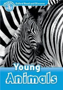 oxford read and discover 1 young animals - ISBNx: 9780194646338