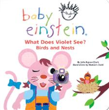 baby einstein what does violet see birds and nests - ISBN: 9780786808748