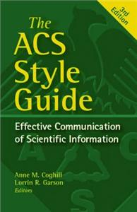ACS Style Guide. Effective Communication of Scientific Information