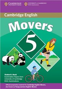 cambridge young learners english tests movers 5 student book - ISBN: 9780521693288
