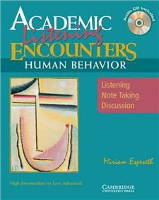 academic listening encounters human behavior students book with audio cd - ISBN: 9780521606202