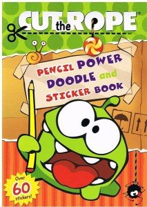 cut the rope pencil power doodle and sticker book - ISBNx: 9781471118579