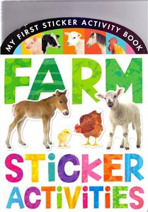 farm sticker activities - ISBN: 9781848958067