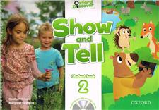 oxford show and tell 2 student book and multirom - ISBN: 9780194779227